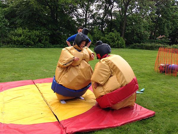 jeu sumo adulte